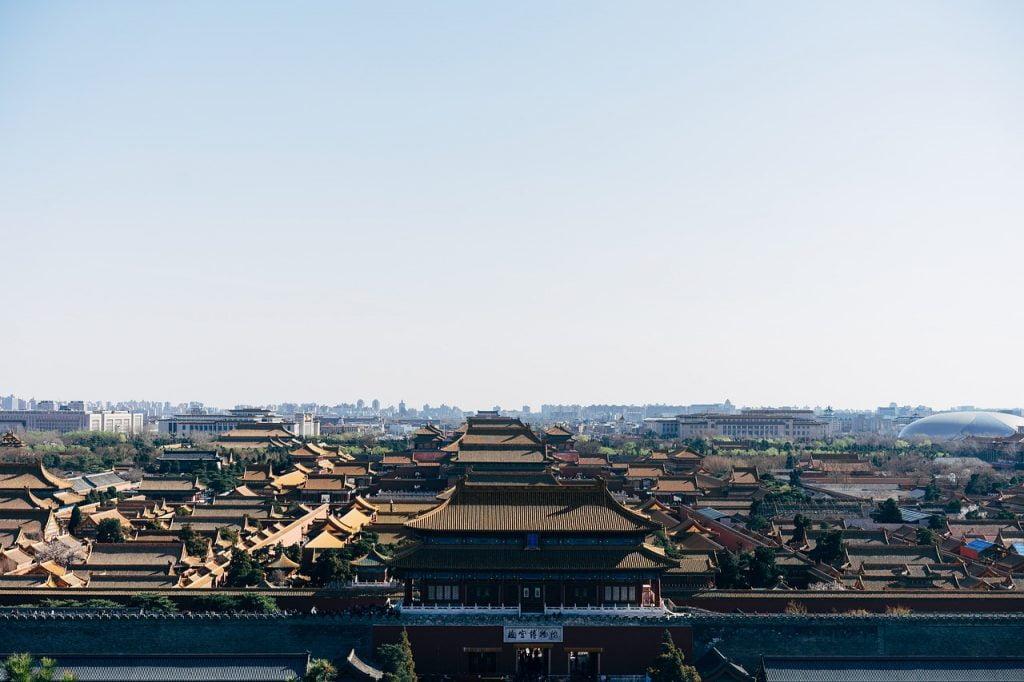 Forbidden City Panorama View  - viarami / Pixabay