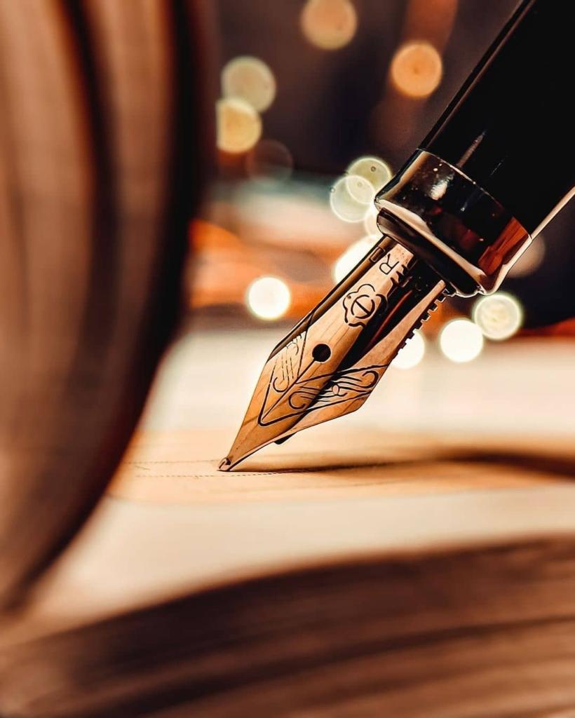 Fountain Pen Write Calligraphy  - tehzeebkazmi / Pixabay