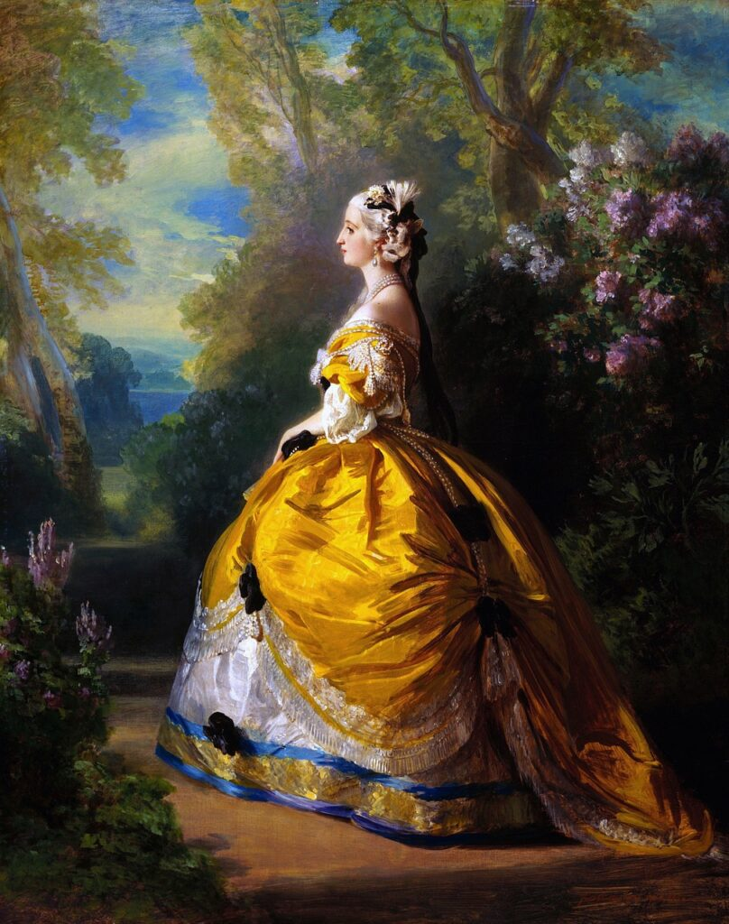 Franz Winterhalter Marie Antoinette  - 12019 / Pixabay