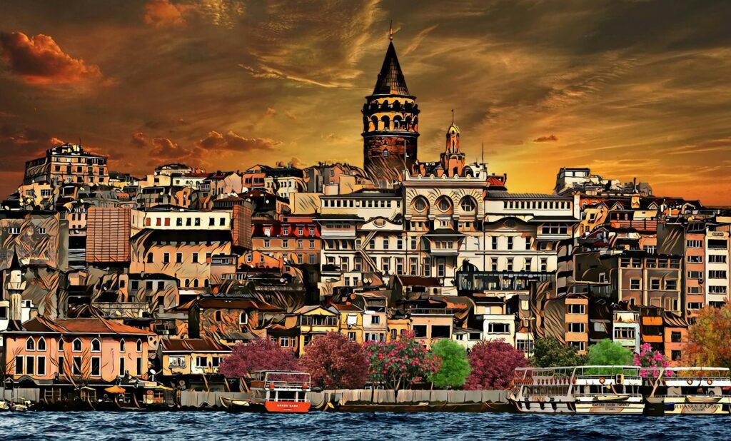 Galata Istanbul Tower Turkey  - 11509558 / Pixabay