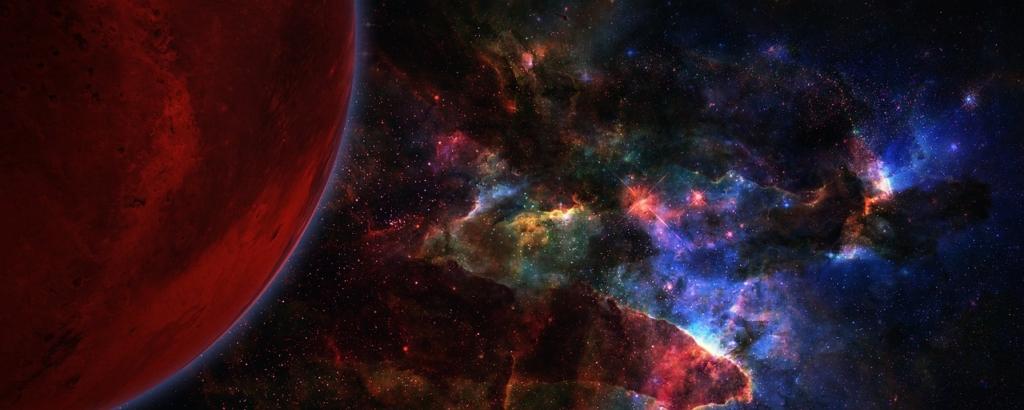 Galaxy Space Planet Universe  - mindofmush / Pixabay