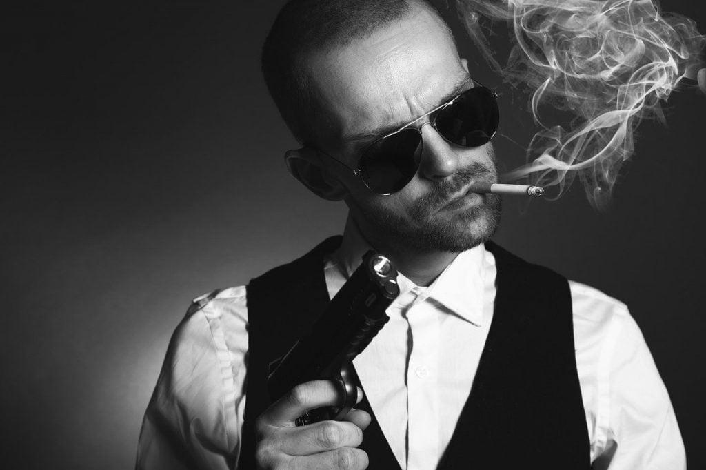 Gangster Man Mafia Criminal Spy  - SamWilliamsPhoto / Pixabay