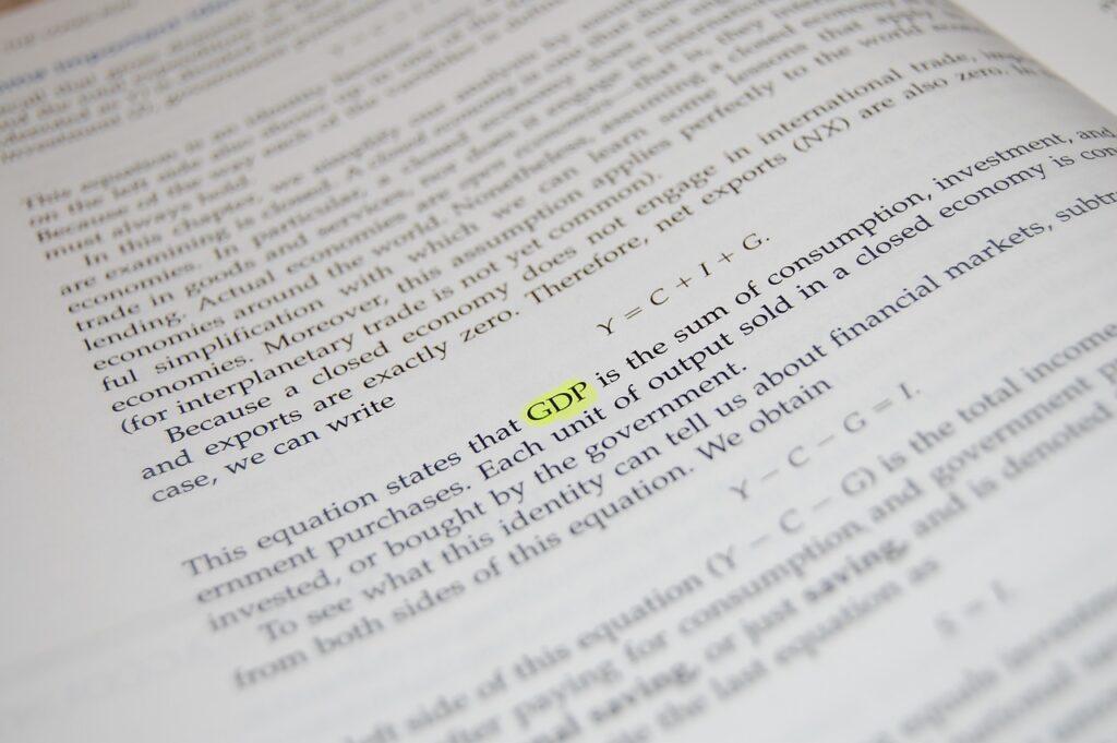 Gdp Paper Document Book Economics  - ram0nm / Pixabay