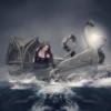 Girl Boat Monster Fight Fantasy  - syaifulptak57 / Pixabay