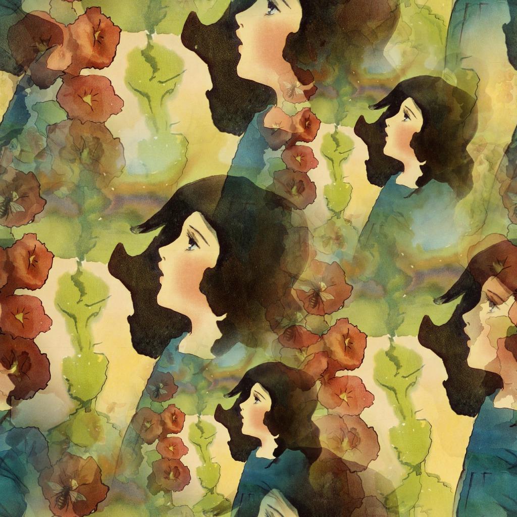 Girl Pattern Background Seamless  - Prawny / Pixabay