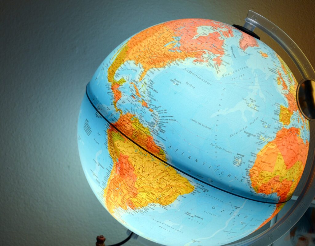 Globe Earth Geography Research  - FSGrafic / Pixabay