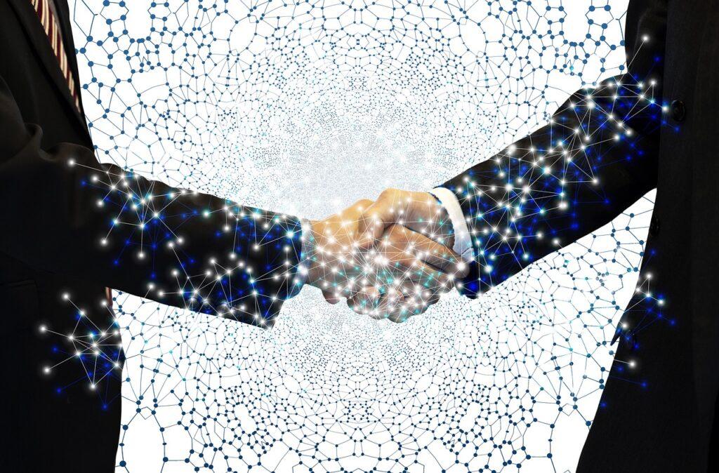 Handshake Businessmen Shaking Hands  - geralt / Pixabay