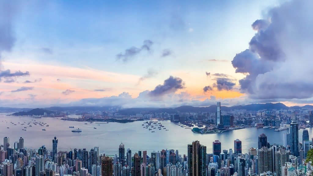 Hongkong Sunrise City Skyline  - fnzy / Pixabay
