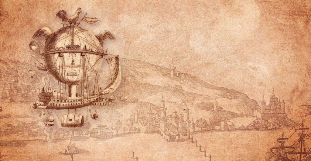 Hot Air Balloon Airship Ride Ships  - DarkmoonArt_de / Pixabay