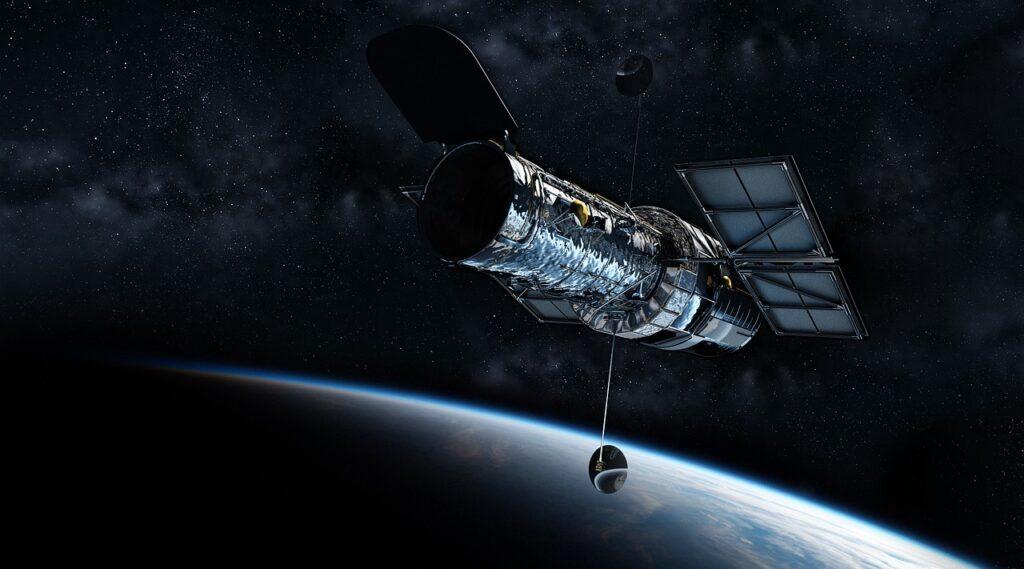 Hubble Telescope Universe  - Andrew-Art / Pixabay