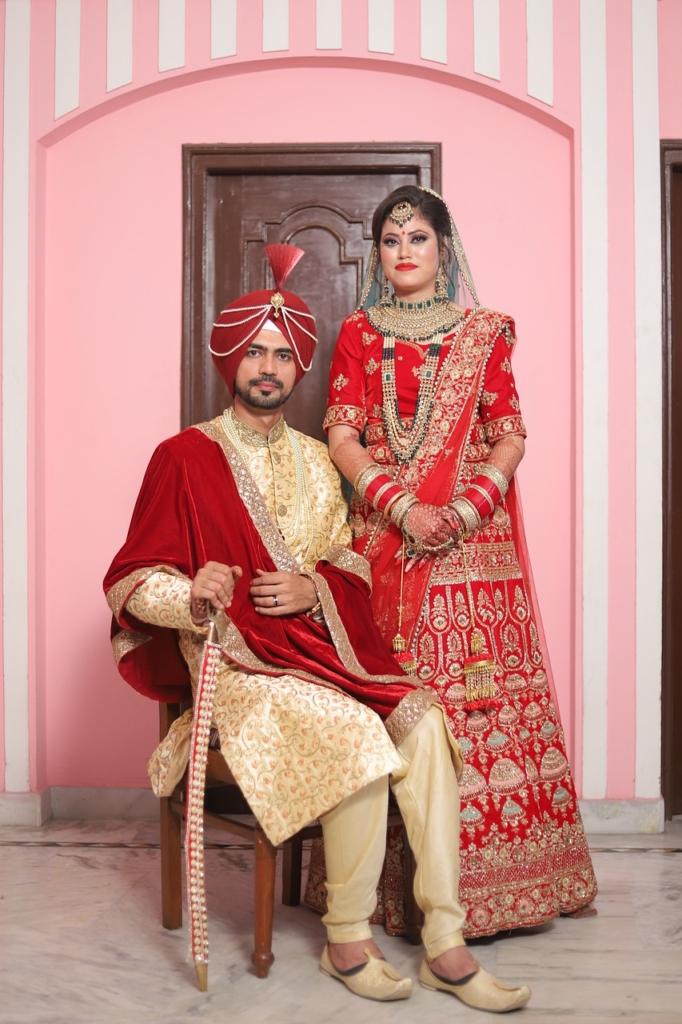 Indian Bride Groom Marriage Makeup  - sahilkaler66 / Pixabay