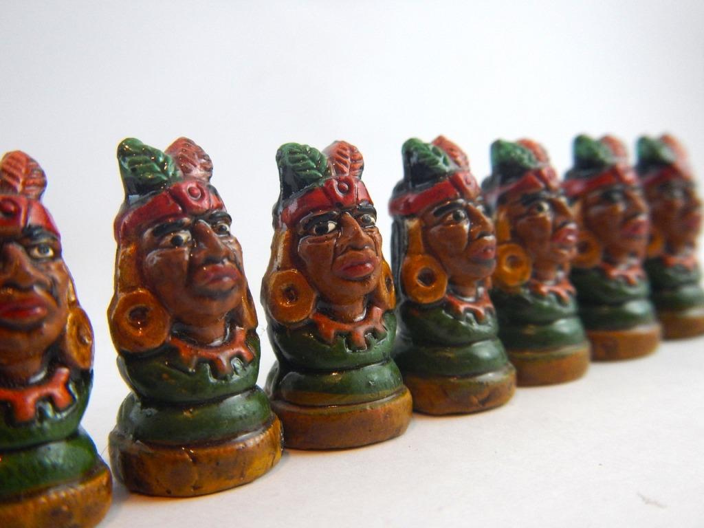 Indians Pieces Aztecs Toys  - Lernestorod / Pixabay