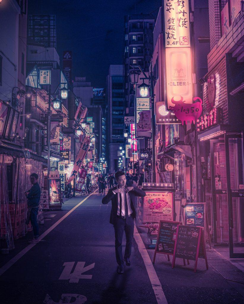 Japan Cyberpunk Street Neon Asia  - a9ent007 / Pixabay