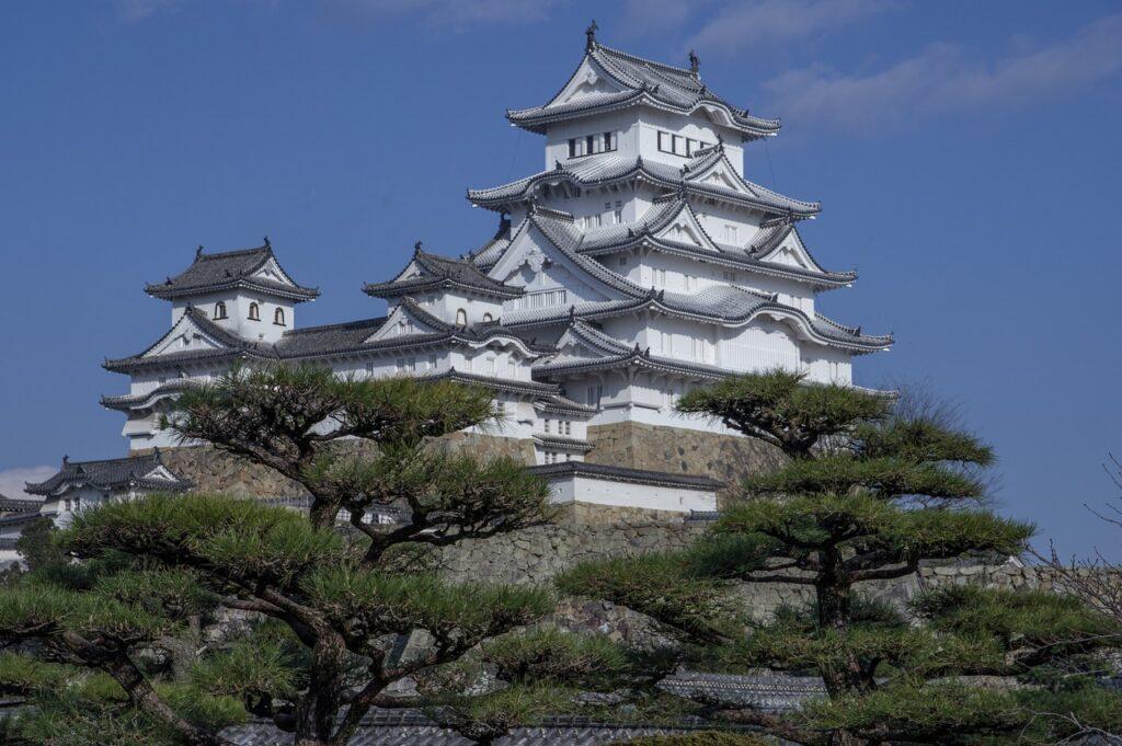 Japan Himeji Castle Feudal Roofing  - jackmac34 / Pixabay