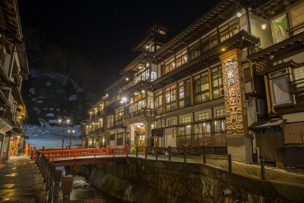 Japan Hot Springs Inn Yamagata  - AG2016 / Pixabay