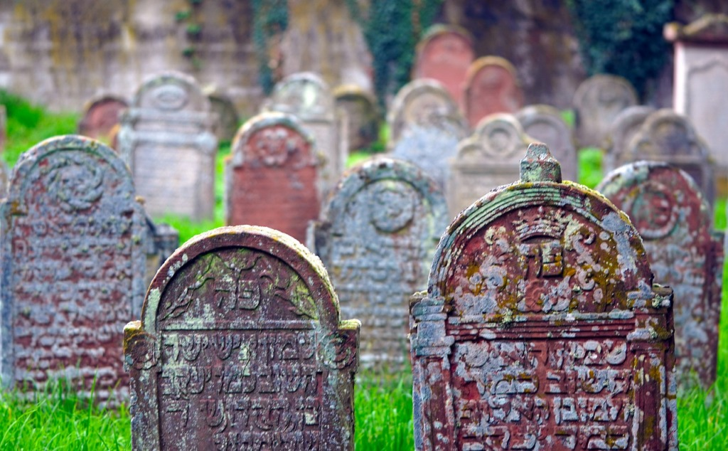 Jewish Cemetery Tombstones Graveyard  - matthiasboeckel / Pixabay