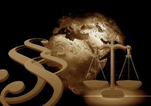Justitia Libra Paragraph Globe  - geralt / Pixabay