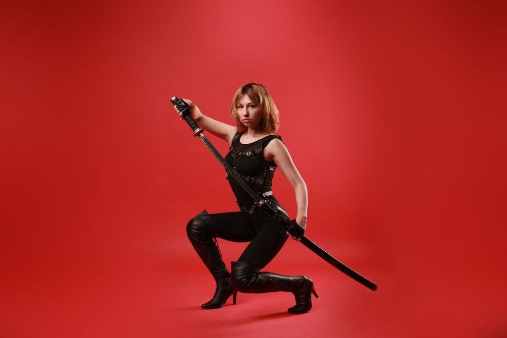 Katana Sword Samurai Ninja Warrior  - Victoria_Borodinova / Pixabay