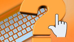 Keyboard Question Mark Cursor Help  - geralt / Pixabay