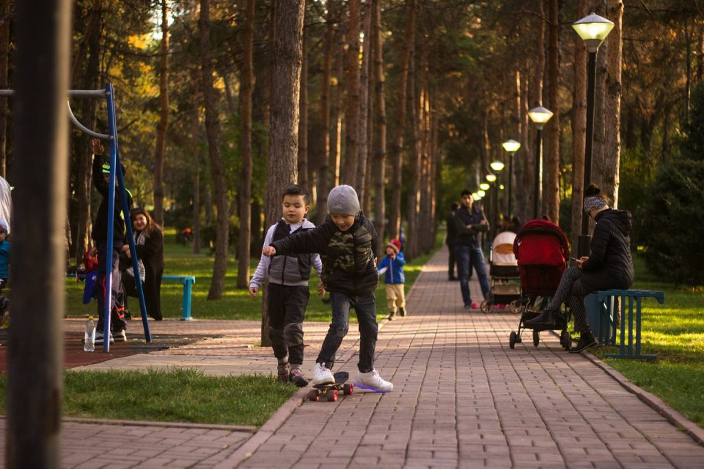 Kids Game Skateboard Joy Park  - deb_qep / Pixabay
