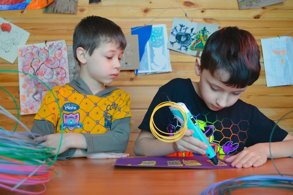 Kids Hobby Creation D Pen  - Victoria_Borodinova / Pixabay