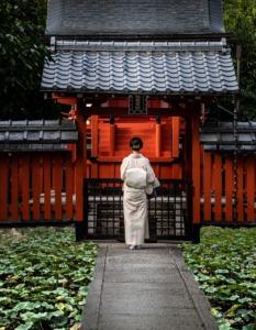 Kimono Costume Shrine Prayer  - GregPoulsen / Pixabay