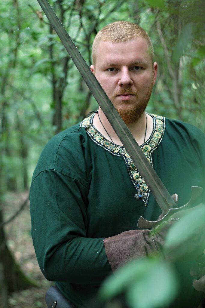 Knight Sword Middle Ages Shield  - PetraSolajova / Pixabay