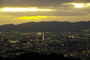 Kyoto City Dusk Cityscape Japan  - docyade78 / Pixabay