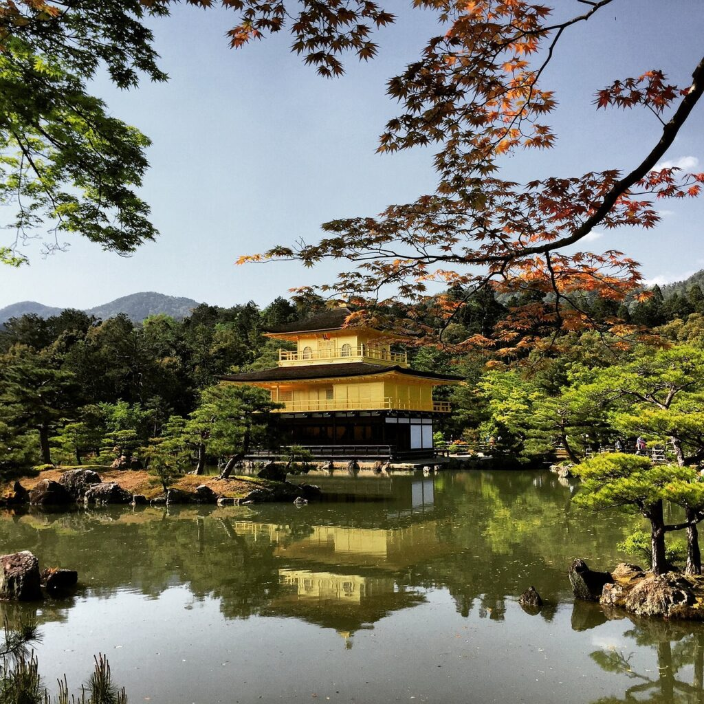 Kyoto Japan Goldentemple Temple  - la_ermi / Pixabay