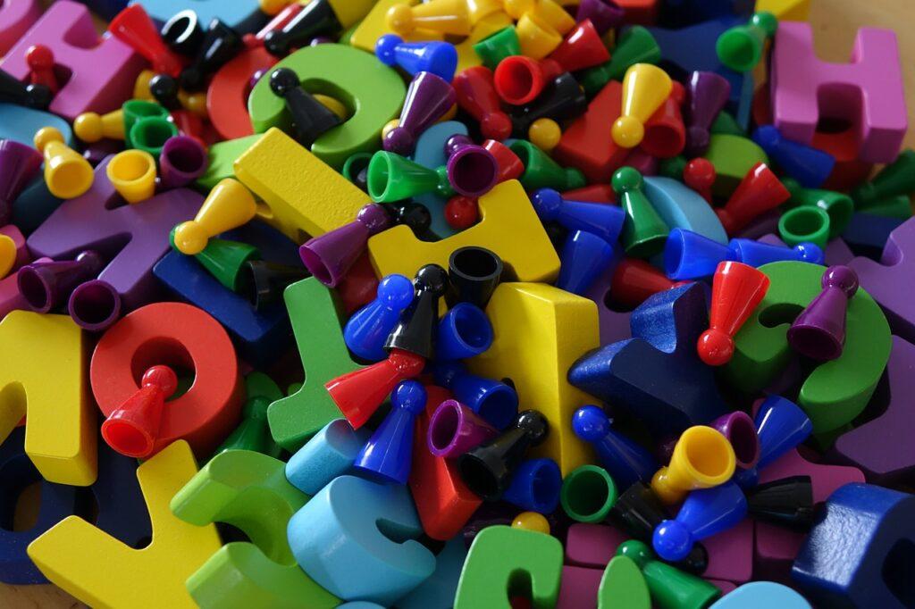 Letters Colorful Color Chaos  - geralt / Pixabay