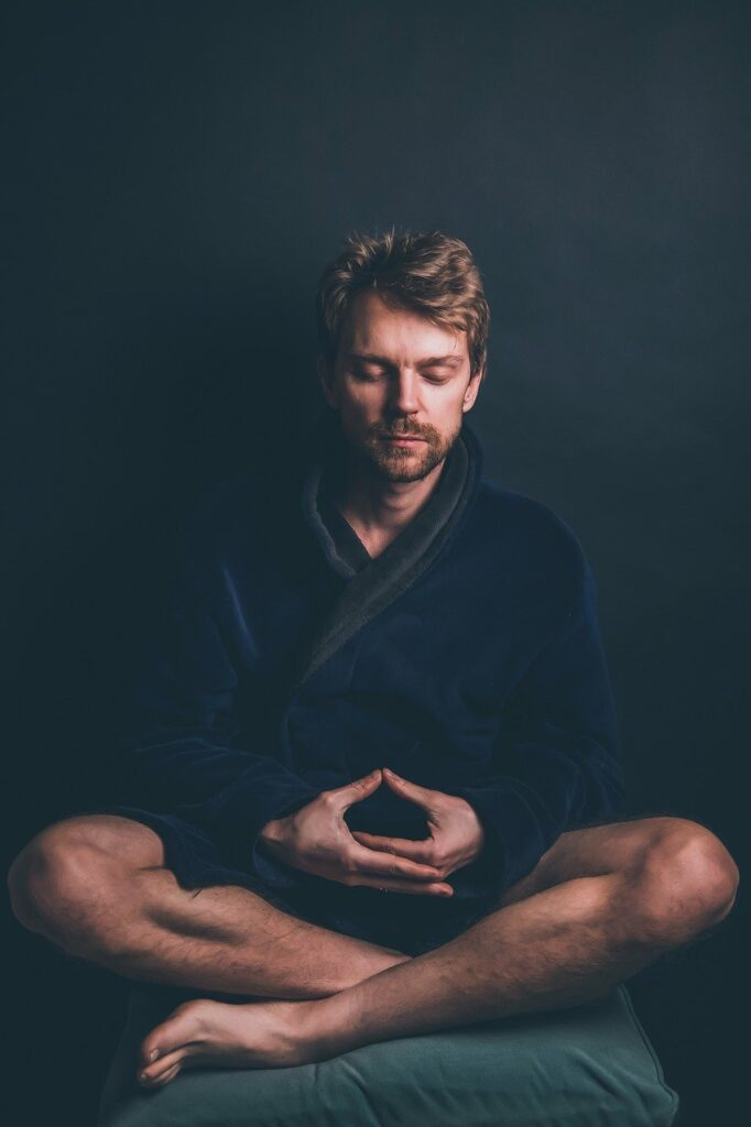 Male Meditate Meditation Spiritual  - Sammy-Williams / Pixabay