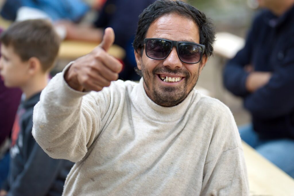 Man Adult Glasses Sun Beard  - icsilviu / Pixabay