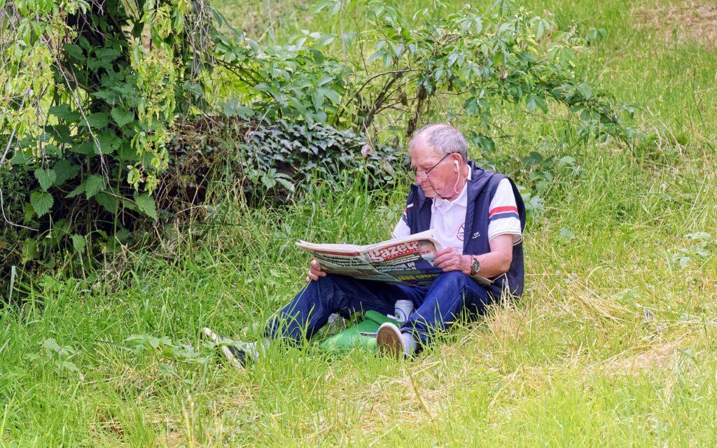 Man Age Glasses View Placed Grass  - icsilviu / Pixabay