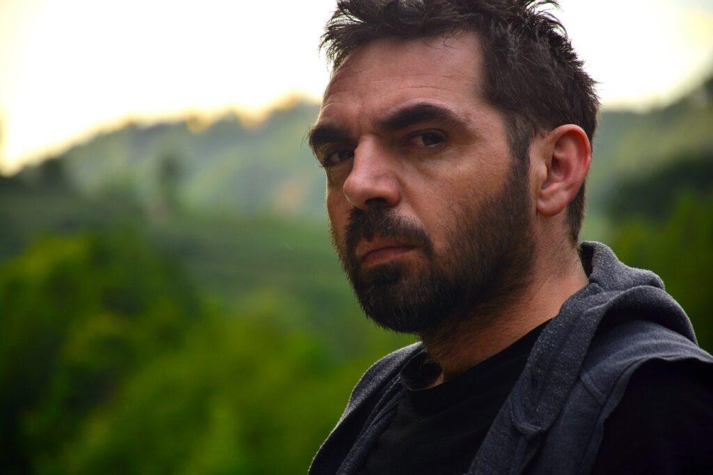 Man Beard Portrait Face Serious  - bqresh / Pixabay