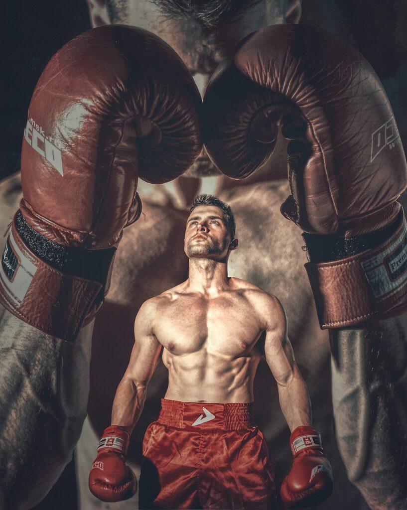 Man Boxer Gloves Box Fight Sport  - ThomasWolter / Pixabay