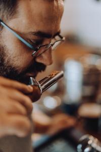 Man Coffee Roasting Smell Smelling  - R-steray / Pixabay