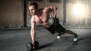 Man Exercise Fitness Gym Dumbbells  - StockSnap / Pixabay