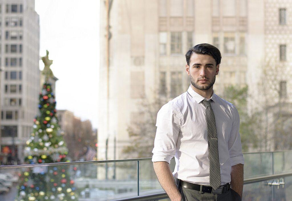 Man Fashion Necktie Tie Handsome  - Frame-It / Pixabay