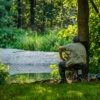 Man Fishing River Tree Grass  - SamuelStone / Pixabay