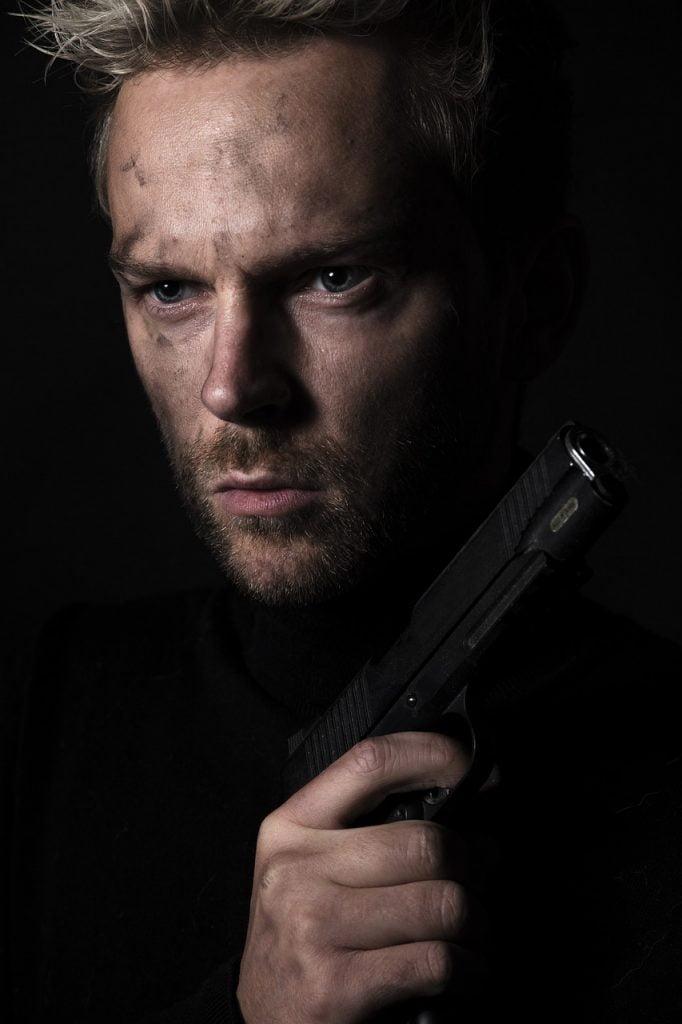 Man Gun Soldier War Crime Killer  - SamWilliamsPhoto / Pixabay