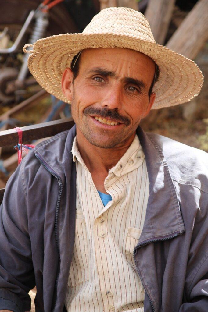 Man Hat Smile Moroccan Face Male  - fjmeulbroek / Pixabay