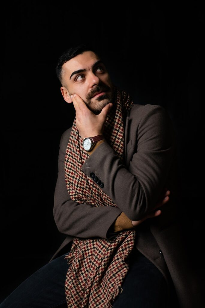 Man Model Portrait Fashion Style  - chokoeff_l / Pixabay