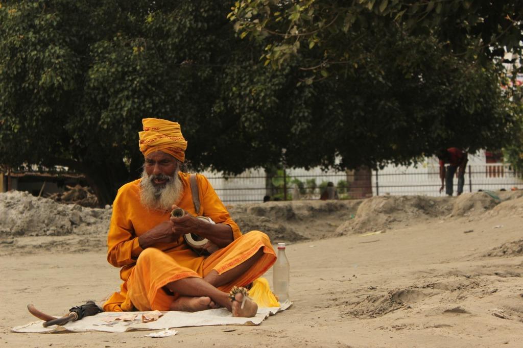 Man Monk Spirituality Temple India  - swiz2288 / Pixabay