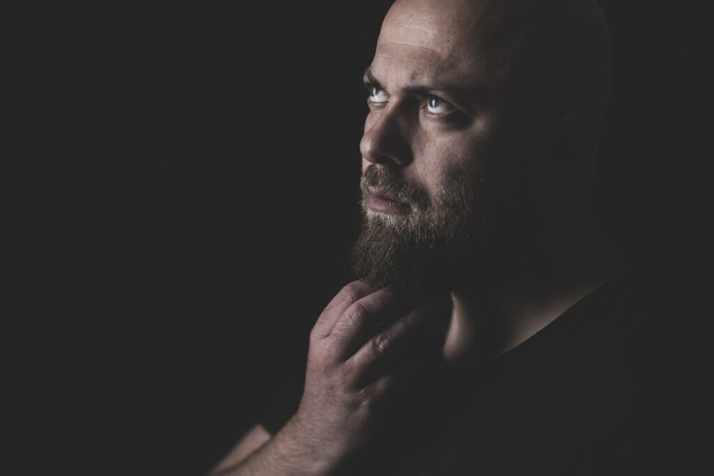 Man Portrait Model Beard  - Engin_Akyurt / Pixabay