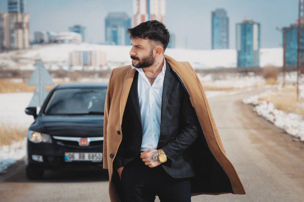 Man Portrait Model Fashion Style  - OlcayErtem / Pixabay