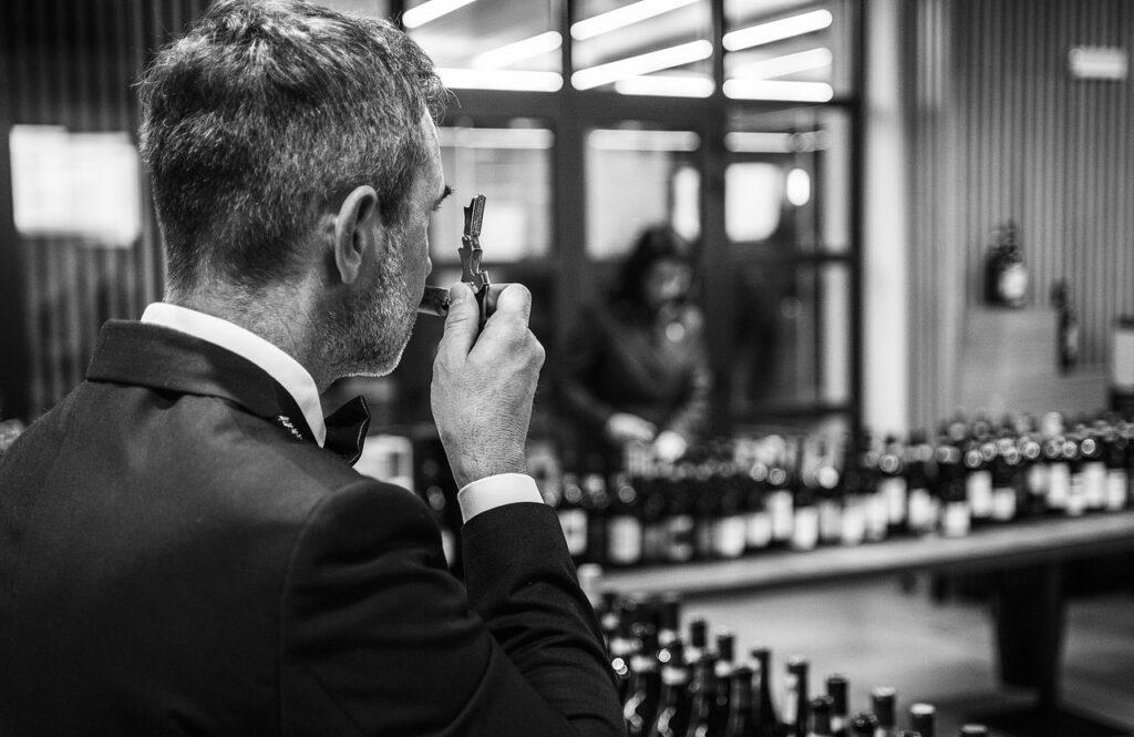 Man Sommelier Wine Winery Bottles  - MatteoPhotoPro2020 / Pixabay