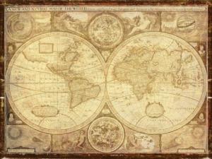 Map World Travel Knowledge  - flutie8211 / Pixabay