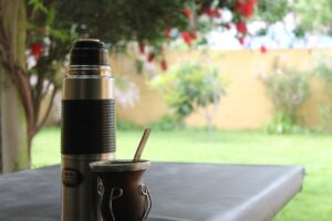 Mate Container Water Bottle Herbs  - JKarlocchia / Pixabay