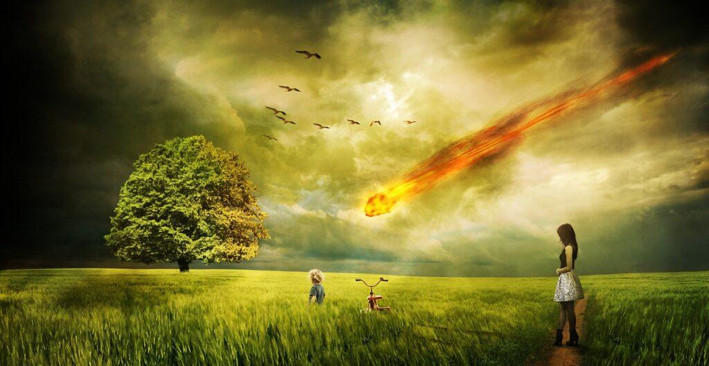 Meteorite Impact Comet Destruction  - Comfreak / Pixabay