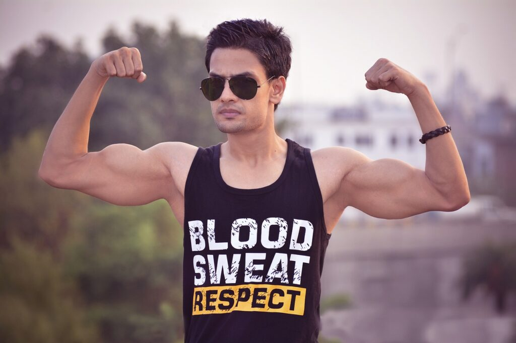 Model Male Fitness Muscles Biceps  - Virat_Maurya / Pixabay